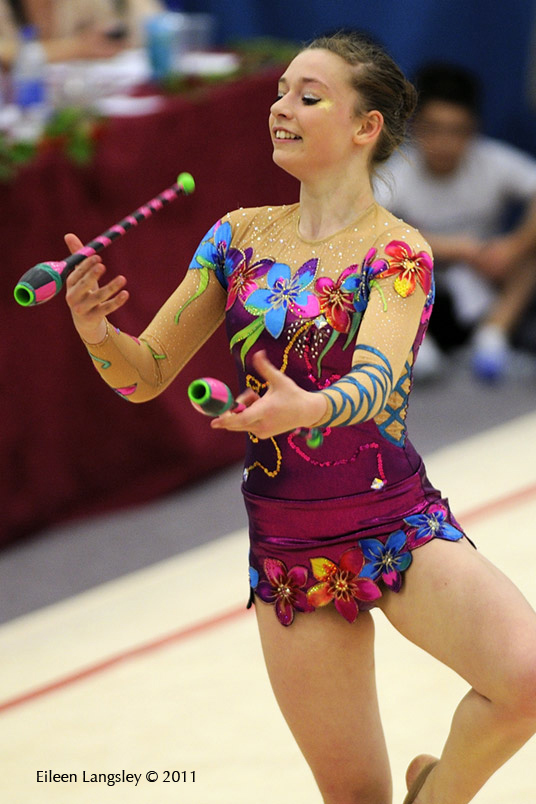 Catherine - English Rhythmic Championships 2011