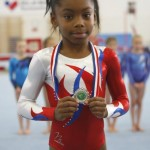 Taeja with silver medal