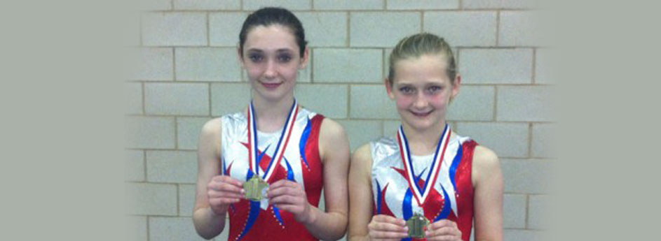Sisters Francesca & Louisa Qualify for National Levels Tumbling Finals