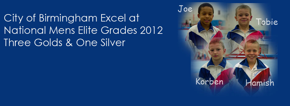 Boys Excel at National Elite Grades