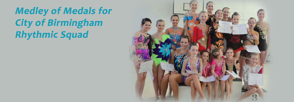 Medley of Medals for Rhythmic Squad