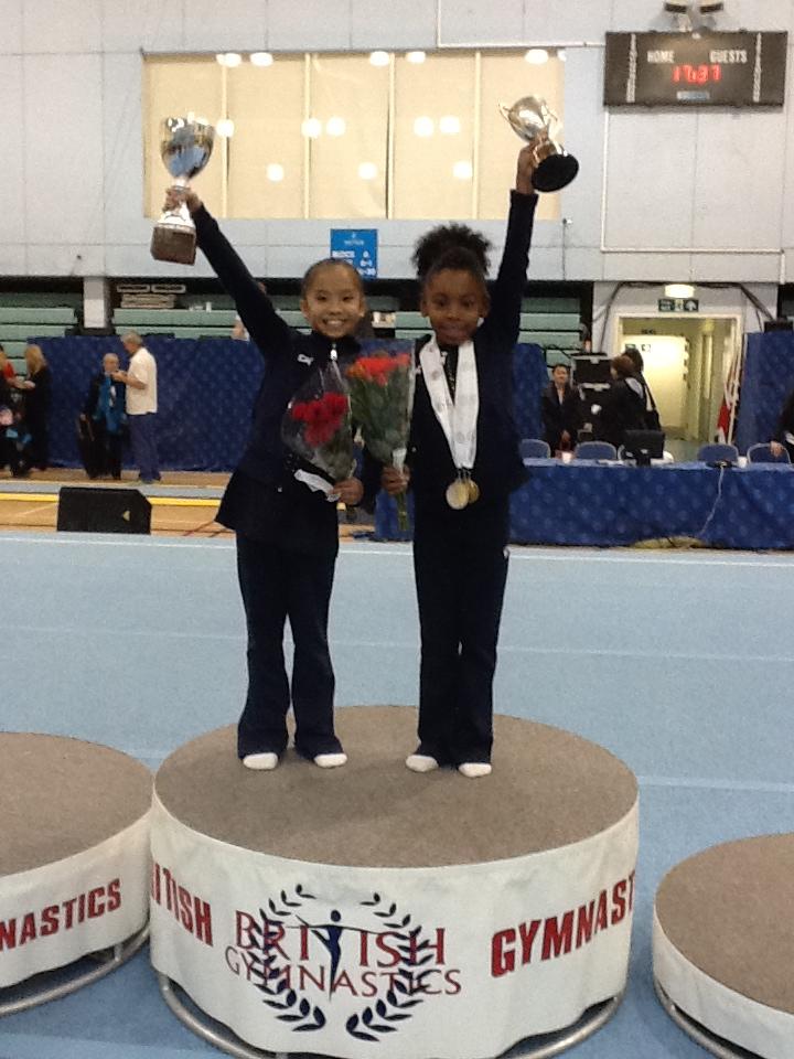 Christine & Taeja, Voluntary L3  British Team Champions 2012