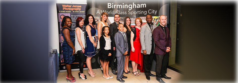 City of Birmingham GC attend the Birmingham Sports Awards 2012