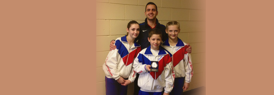 Success At British Open Tumbling Tournament