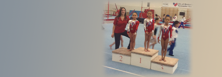 Clean Sweep at WMids Regional Compulsory 5 Championships 2013