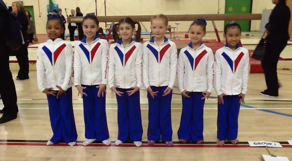 Hazel, Millie (silver Medallist), Dinah (Gold Medallist), Catrice, Kelsie, Serena