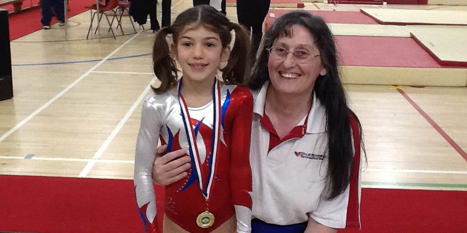 Dinah, Grade 14 (OA) Champion & coach, Leslie Browne