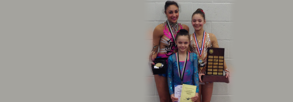 Rhythmic Girls Medal at Regional, Zone & NDP Championships 2013