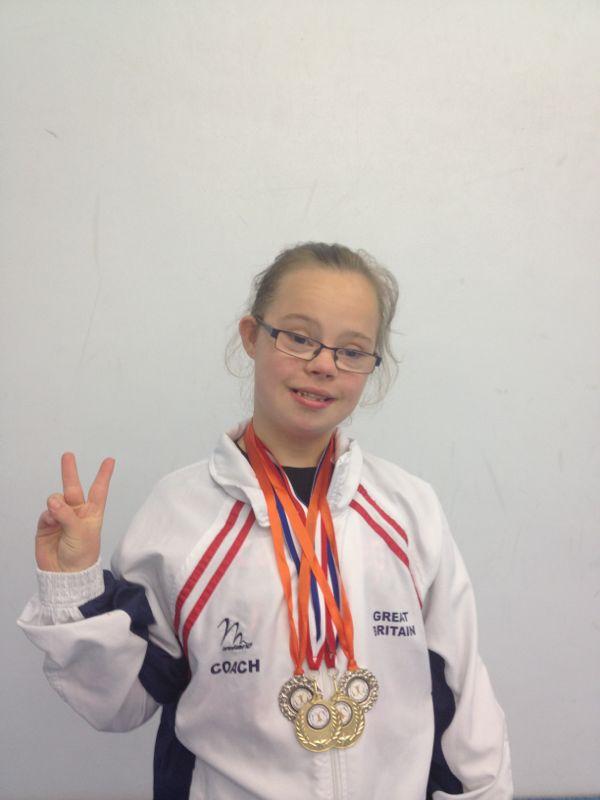 Zara sports Individual Apparatus Medals