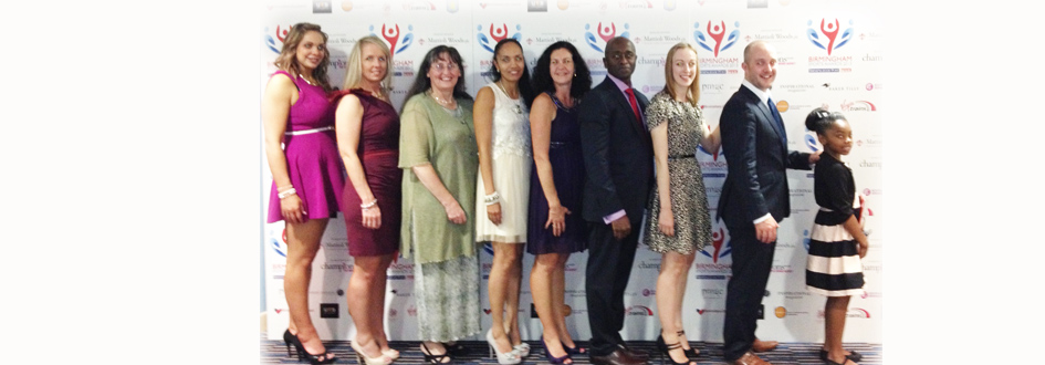 Birmingham Sports Awards Success for Taeja