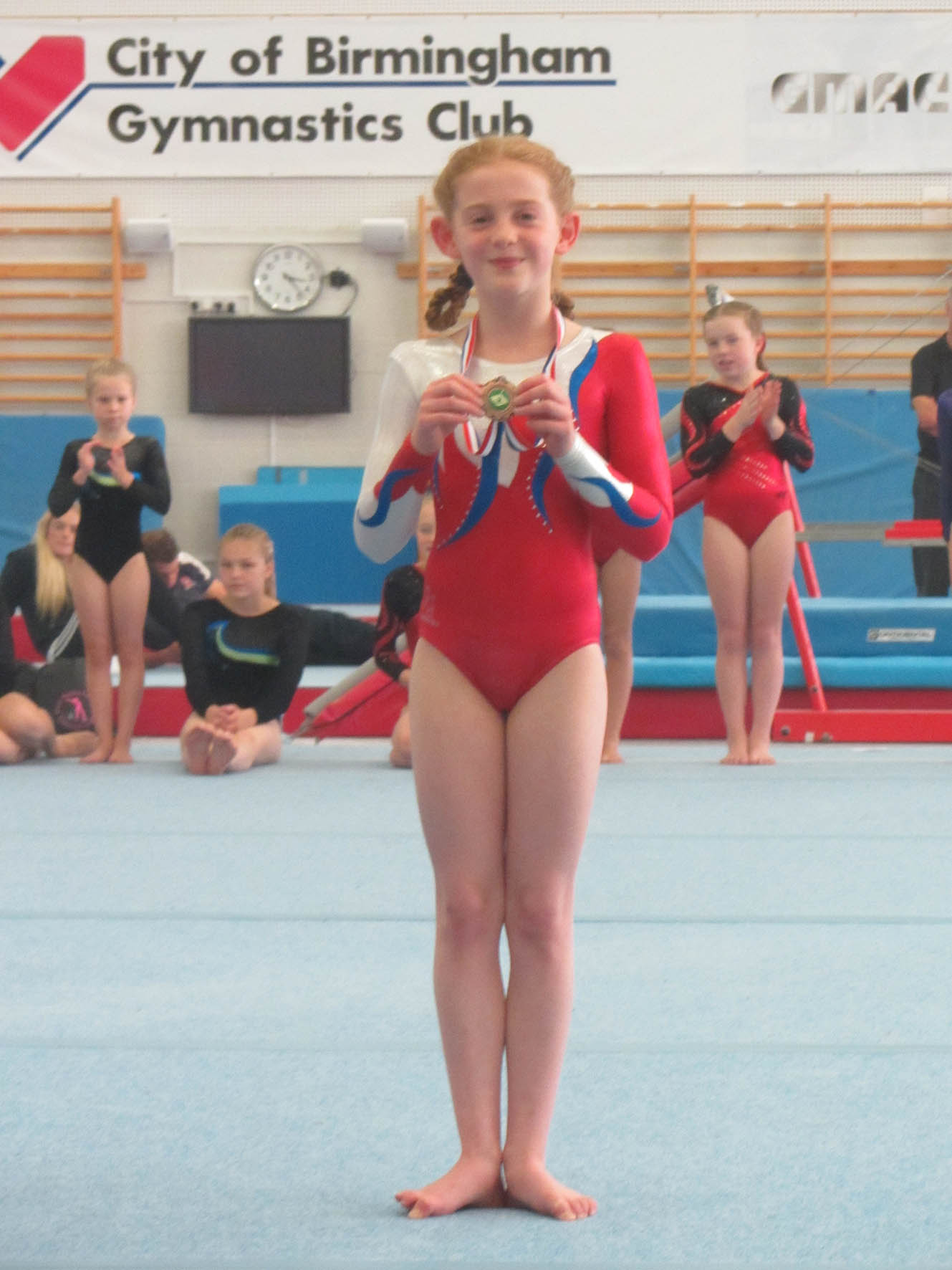 Jessica - West Mids Level 4 Out of Age (10/11yrs) Bronze Medalist 2013