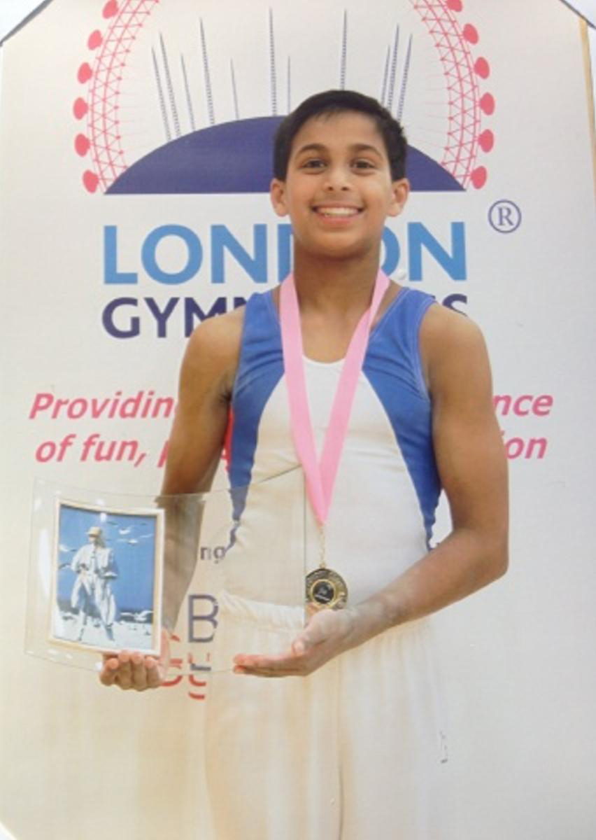 Josh, winner of the London Open Loveday Shield