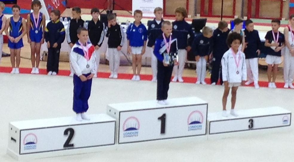 City of Birmingham Gymnast, Tobie, takes the Silver Medal position in the Level 2  category of the London  Open Championships 2013