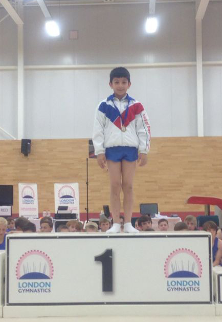 Daiyaan, Level 2 In Age Individual apparatus champion on Floor