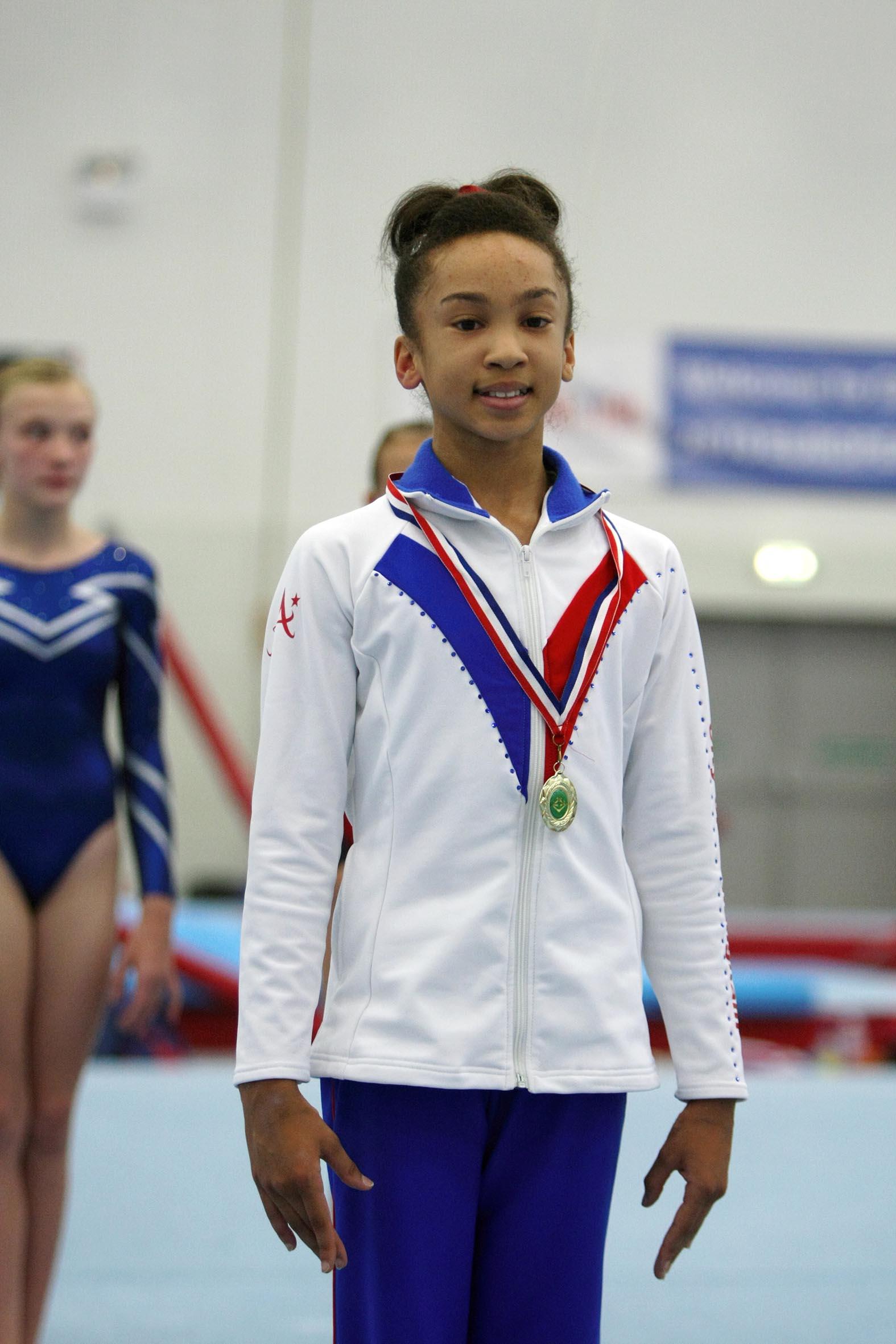Rachel - West Mids Espoir Champion 2013