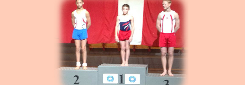 Kallum Wins World Age Group Tumbling  Test Event