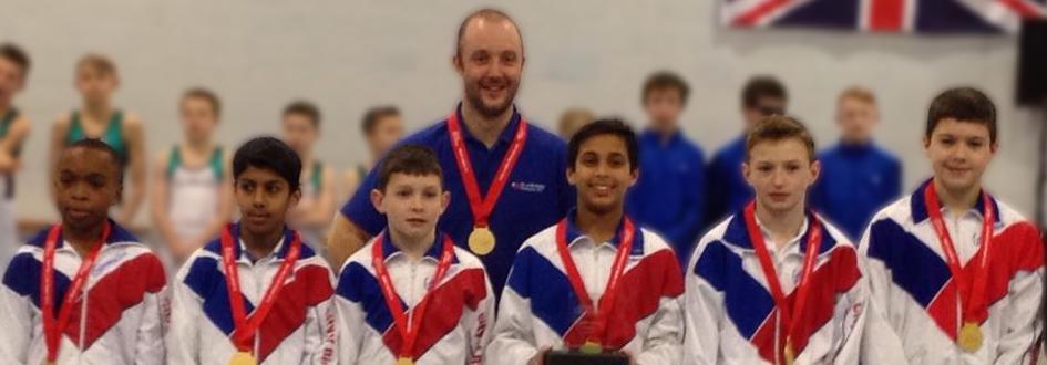 Mens Junior British Team Champions 2013