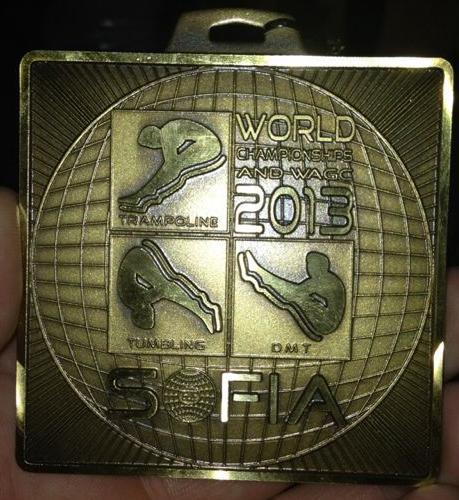 Kallums World Championships Bronze Medal