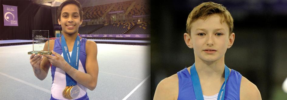 Josh & Korben, British U.14/U.12 Mens Champions 2013