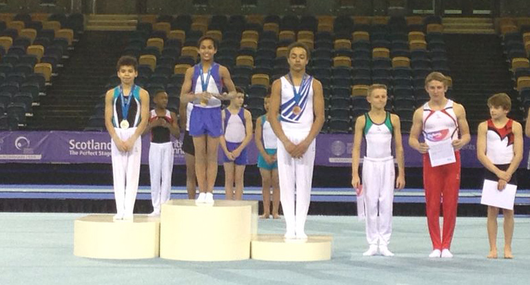 Josh takes All-round title in U.14 Championships 2013