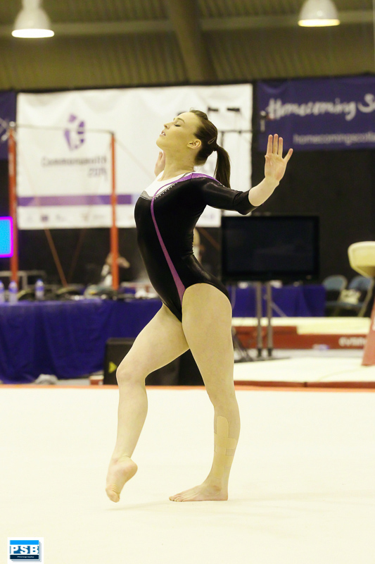 Emma Competing on Floor