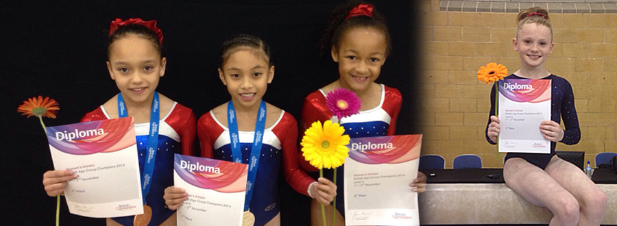 Birmingham Shine at National Voluntary Levels 2 & 4