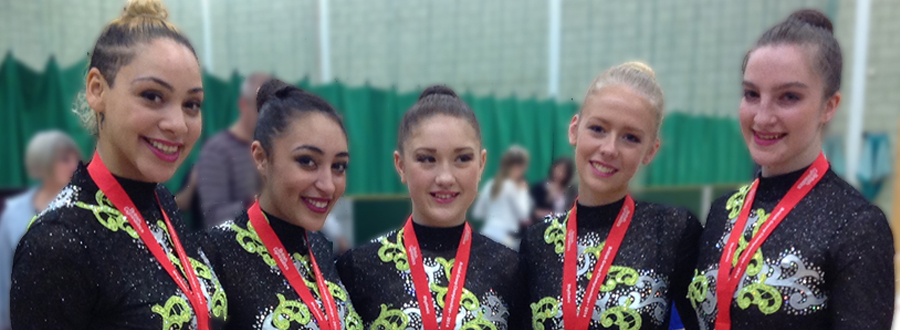 British Rhythmic Group Championship Silver Medalists 2014