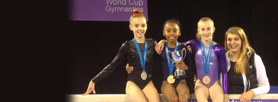 CBGC Girls Medal at British Championships 2014