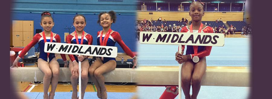 Girls Medal at Compulsory Grades 3 &4 Finals 2015