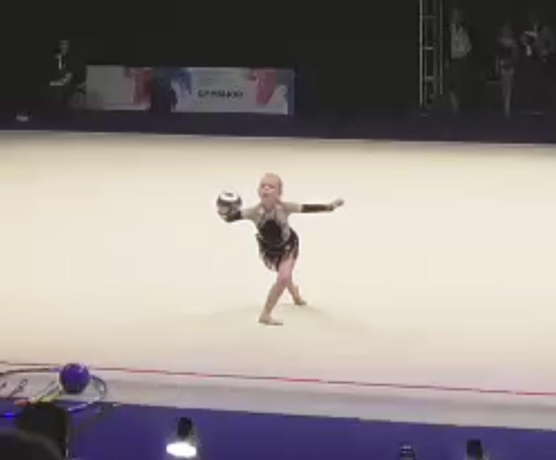Daisy, U.12 All-around Silver Medalist