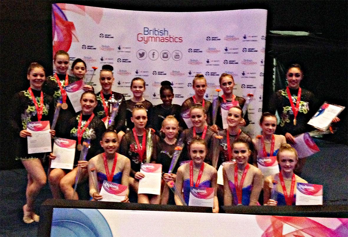 City of Birmingham GC British Championship 2015 Competitors