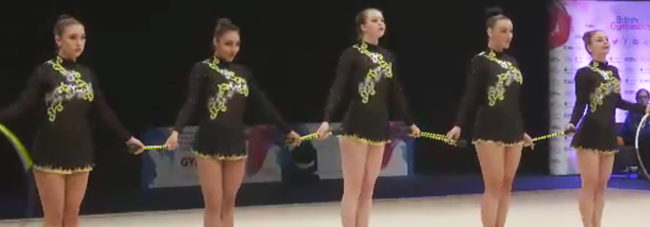 CBGC Rhythmic Girls Medal at 2015 British Championships