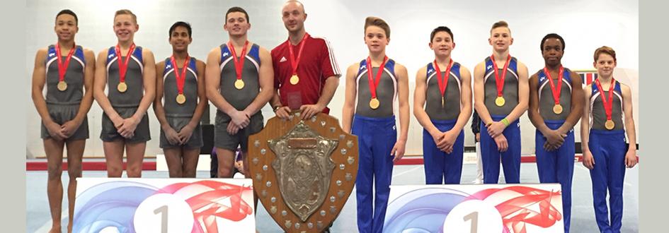 City of Birmingham are Senior and Junior Mens Team Champions 2015