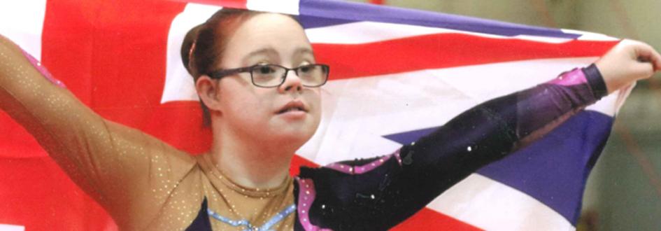 Zara is World Down Syndrome Rhythmic Gymnastics Champion 2015