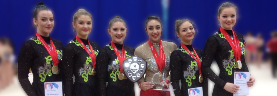 City of Birmingham are Rhythmic British Junior and Senior Team Champions 2015