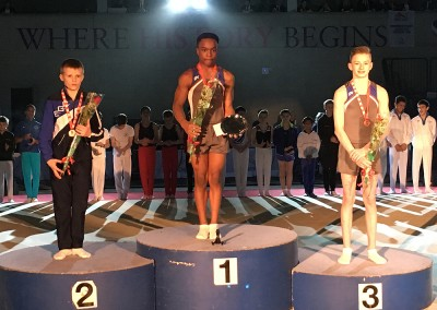 U.14 English Championships 2016: 1st Raekwon Baptiste; 2nd Victor Yeo (Exeter); 3rd Korben Fellows