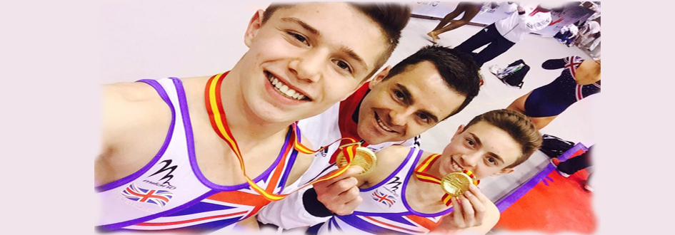 Junior Tumblers Win European Championships 2016