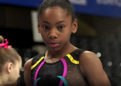Taeja James: in warm up the Junior Team event