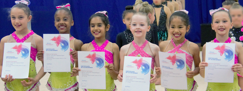 British Rhythmic Group Championship Medalists 2017
