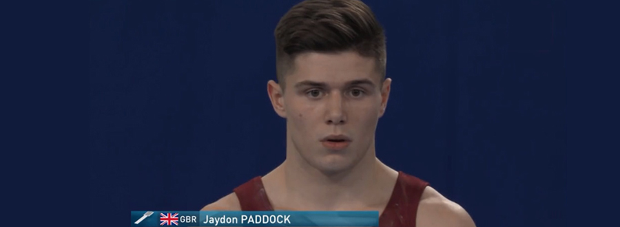 Jaydon Paddock – World Tumbling Team Champion 2019